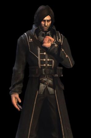 Corvo Attano, personagem do game Dishonored(Foto: Reprodução)