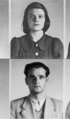 Um funcionário observou a atividade dos irmãos Scholl e os denunciou a Gestapo.