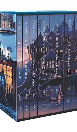 5° Box Harry Potter (J. K. Rowling/ Editora Rocco). 4.383 exemplares vendidos