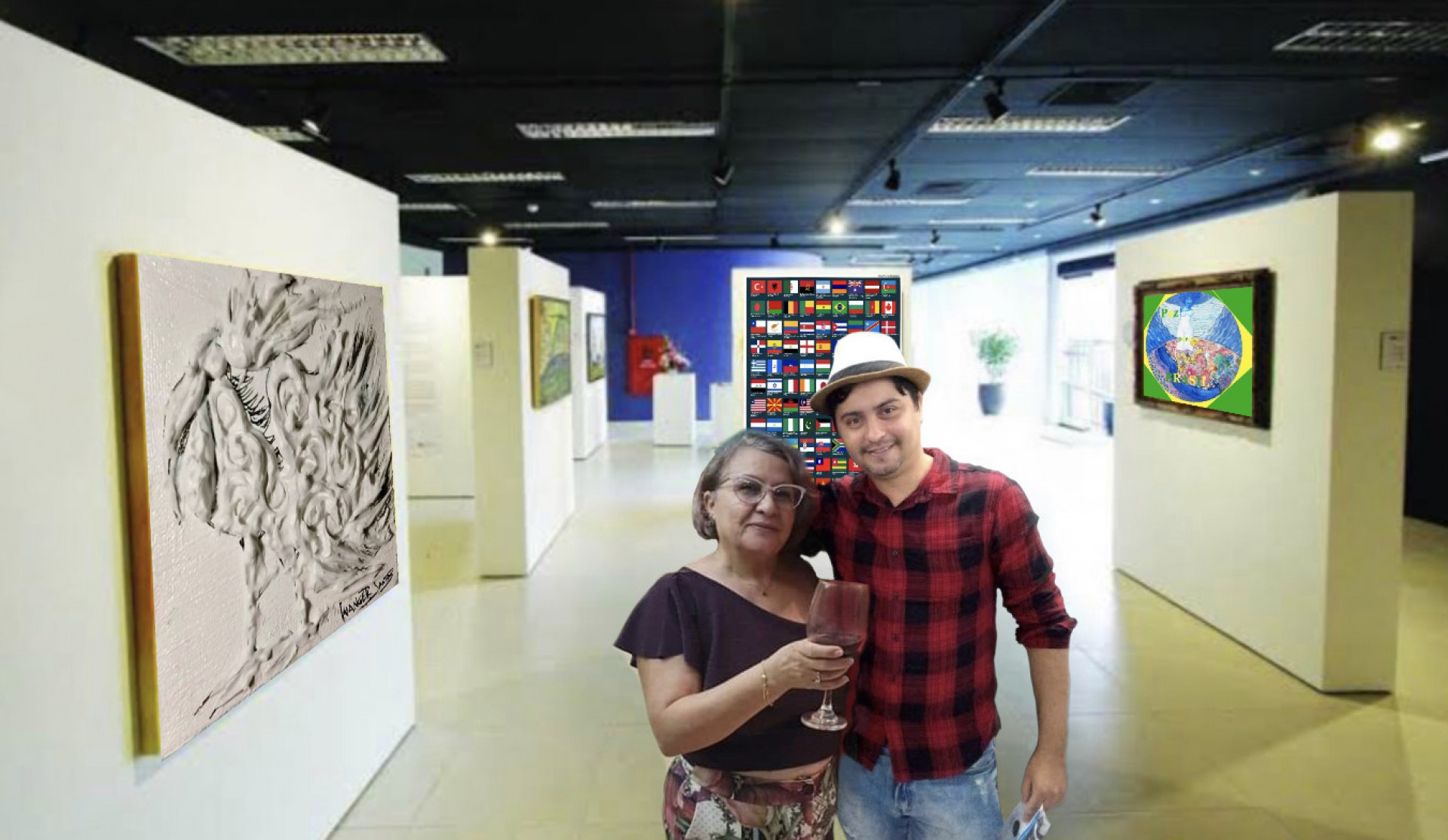 Obra do artista plástico fortalezense Wanger Santos