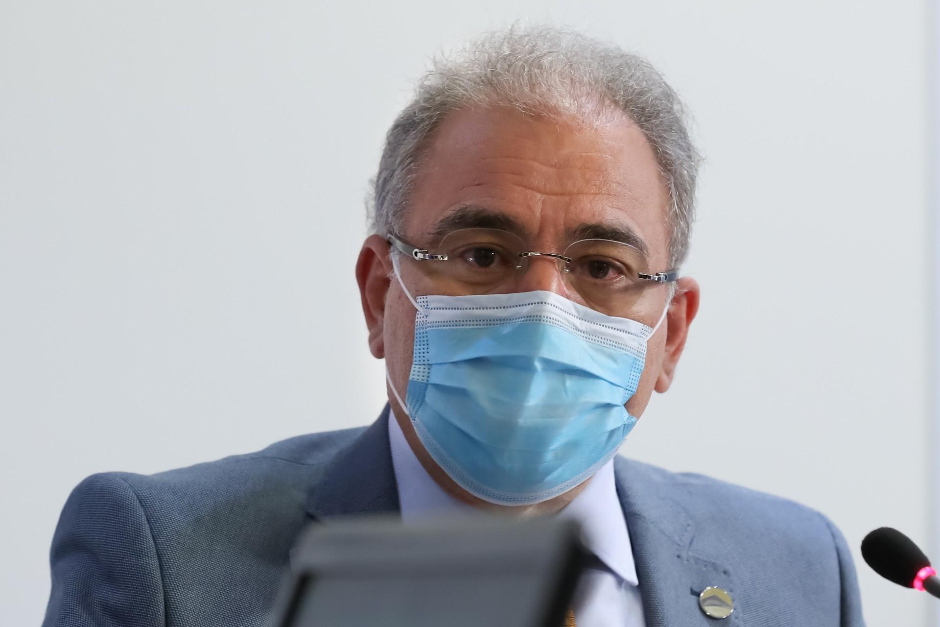 (Brasília - DF, 20/04/2021) Palavras do Ministro da Saúde, Marcelo Queiroga..Foto: Marcos Corrêa/Presidência da República