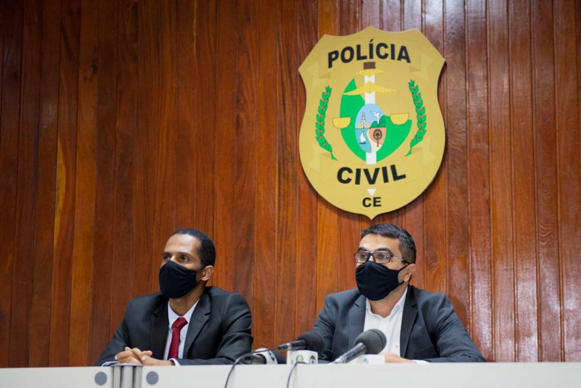PRISÃO da advogada foi detalhada em entrevista coletiva realizada ontem