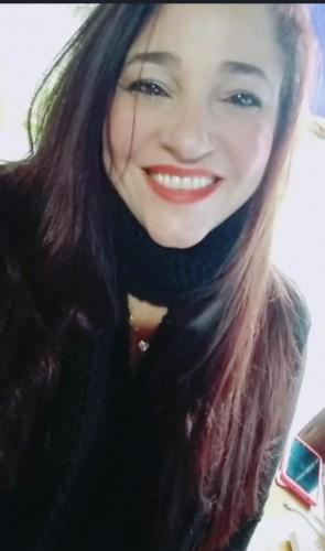 Michele Prado, autora do livro