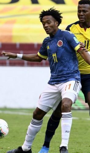 Colômbia e Equador se enfrentam na Arena Pantanal (Foto: Divulgação/Federação Colombiana de Futebol)