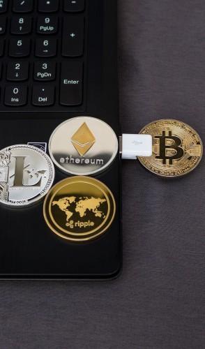 Atualmente, existem mais de 2 mil criptomoedas, como a Ethereum e a Litecoin.