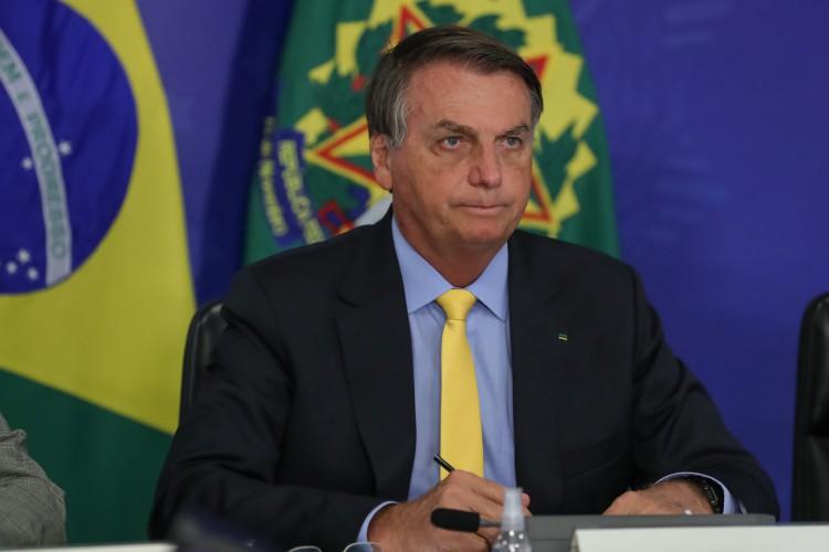Presidente Jair Bolsonaro no Fórum de Investimentos Brasil 2021 (videoconferência).