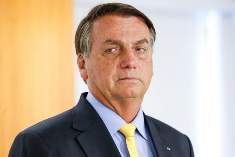 Presidente Jair Bolsonaro em encontro com alunos do Curso de Aperfeiçoamento de Oficiais da PMDF.