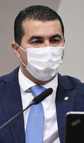 Comissão Parlamentar de Inquérito da Pandemia realizou oitiva do servidor do Ministério da Saúde, Luis Ricardo Fernandes Miranda, e de seu irmão, o deputado federal Luis Miranda (DEM-DF) (Foto: Jefferson Rudy/Agência Senado)