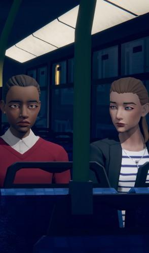 O jogador controla as decisões dos personagens, indicando o que devem dizer em diferentes ocasiões.