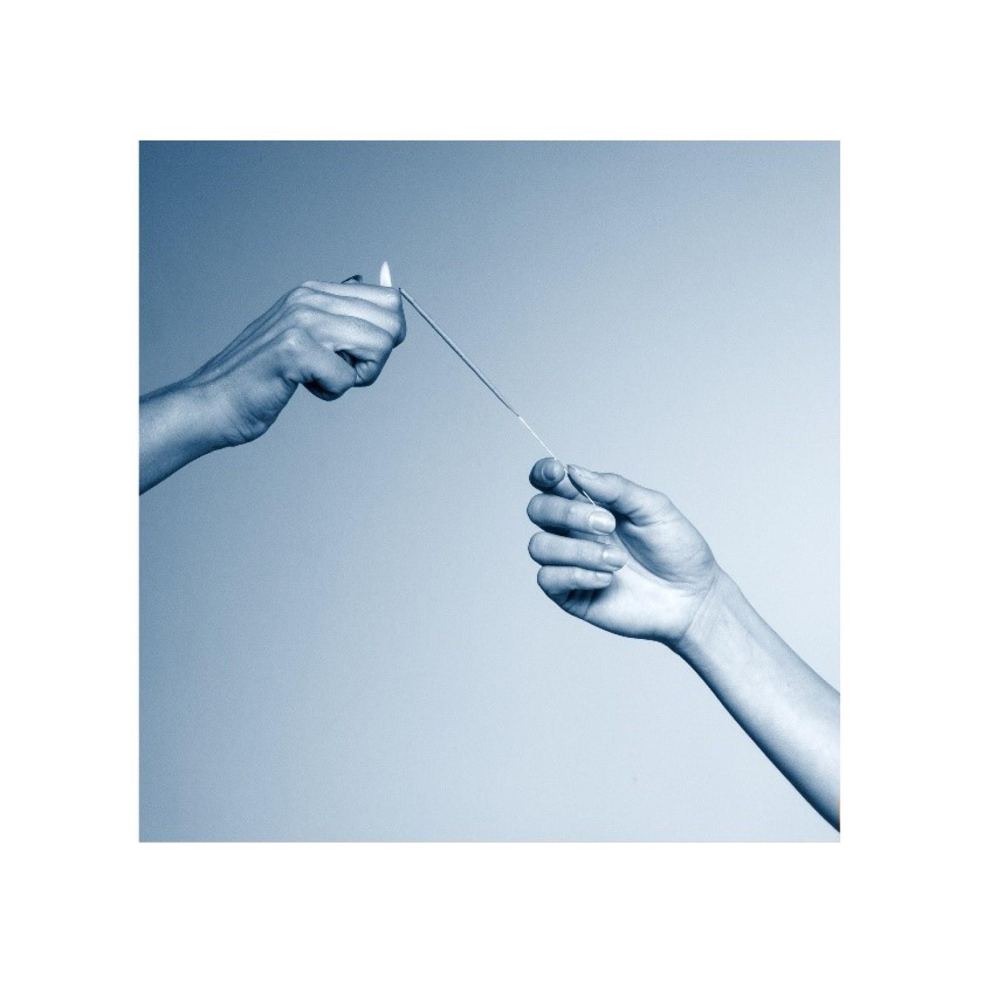 Capa do disco 'Esperança', de Mallu Magalhães