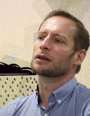 Julien Burte, pesquisador francês(Foto: FÁBIO LIMA COM INTERVENÇÃO DE ISAC BERNARDO)