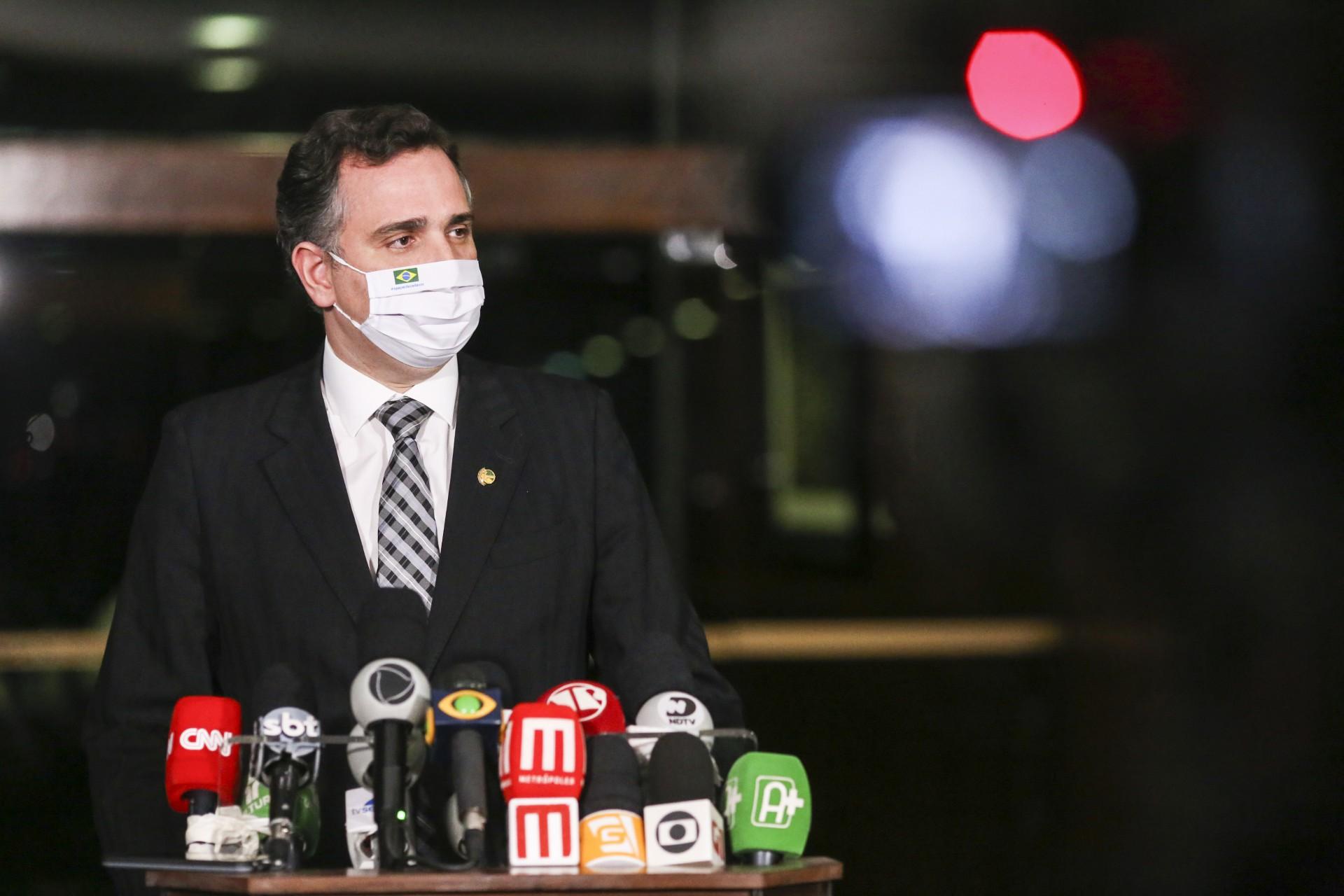 PRESIDENTE do Senado estaria a caminho do PSD (Foto: Pedro Gontijo/Senado Federal)