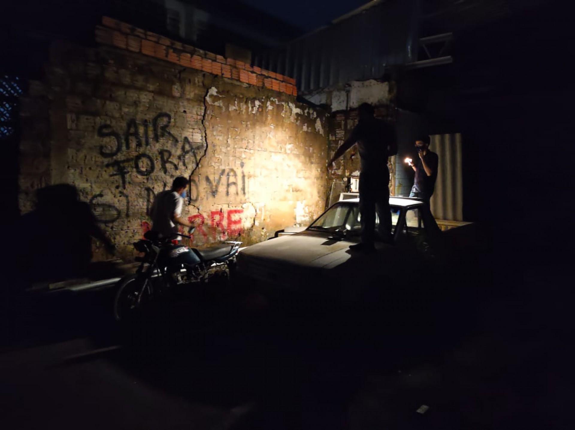 """(Foto: CINTHIA MEDEIROS)Um dos espaço de locação para gravação do documentário """"Guerra sem fim"""". Série do O POVO Mais que aborda a disputa entre facções pelo tráfico de drogas no Ceará"""