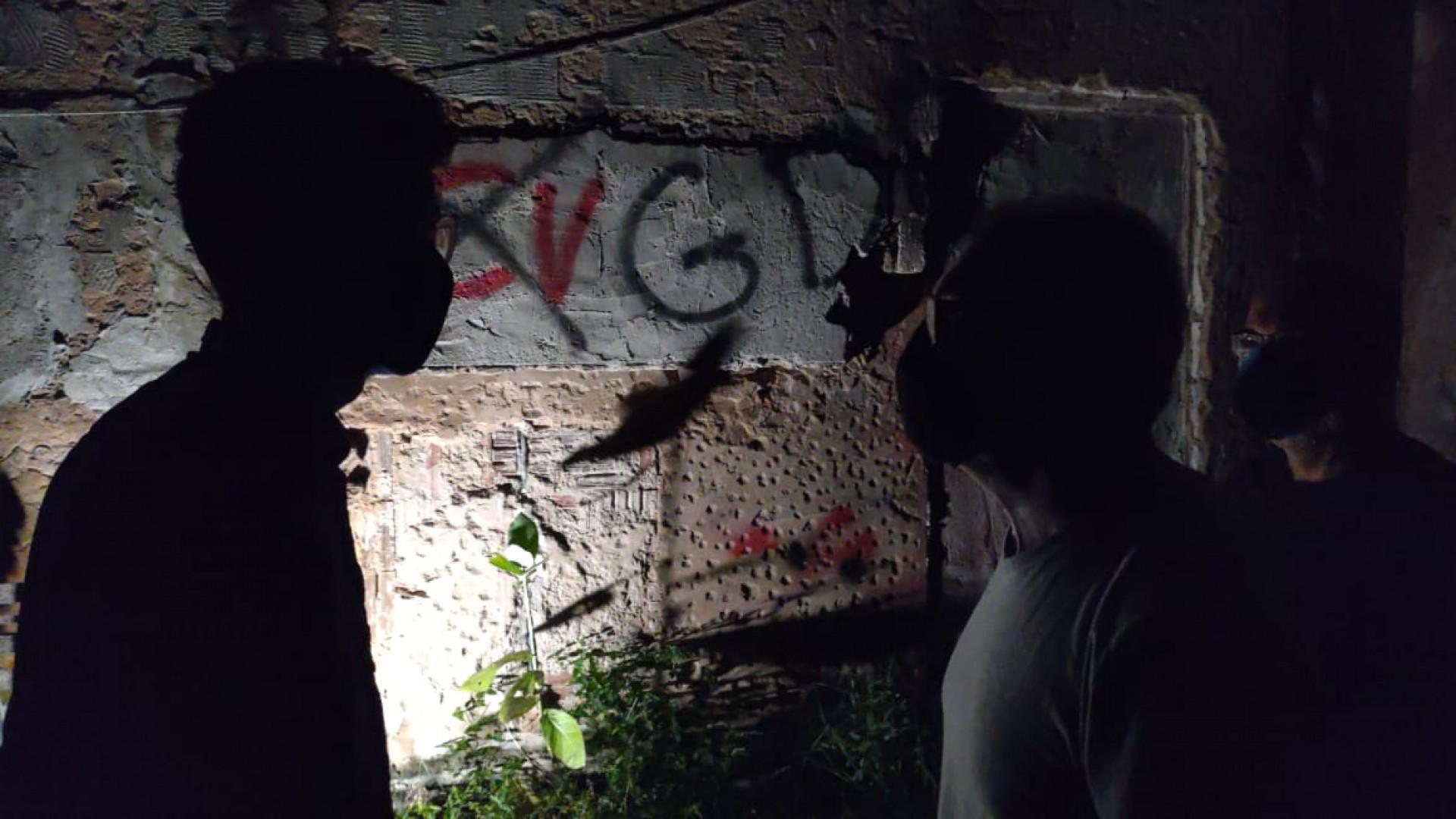 (Foto: CINTHIA MEDEIROS)As cenas de estúdio do Documentário Guerra Sem Fim foram feitas na sede do  O POVO, na Avenida Aguanambi