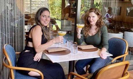 Águeda Muniz e Susanna Marchioni (Foto: arquivo pessoal)