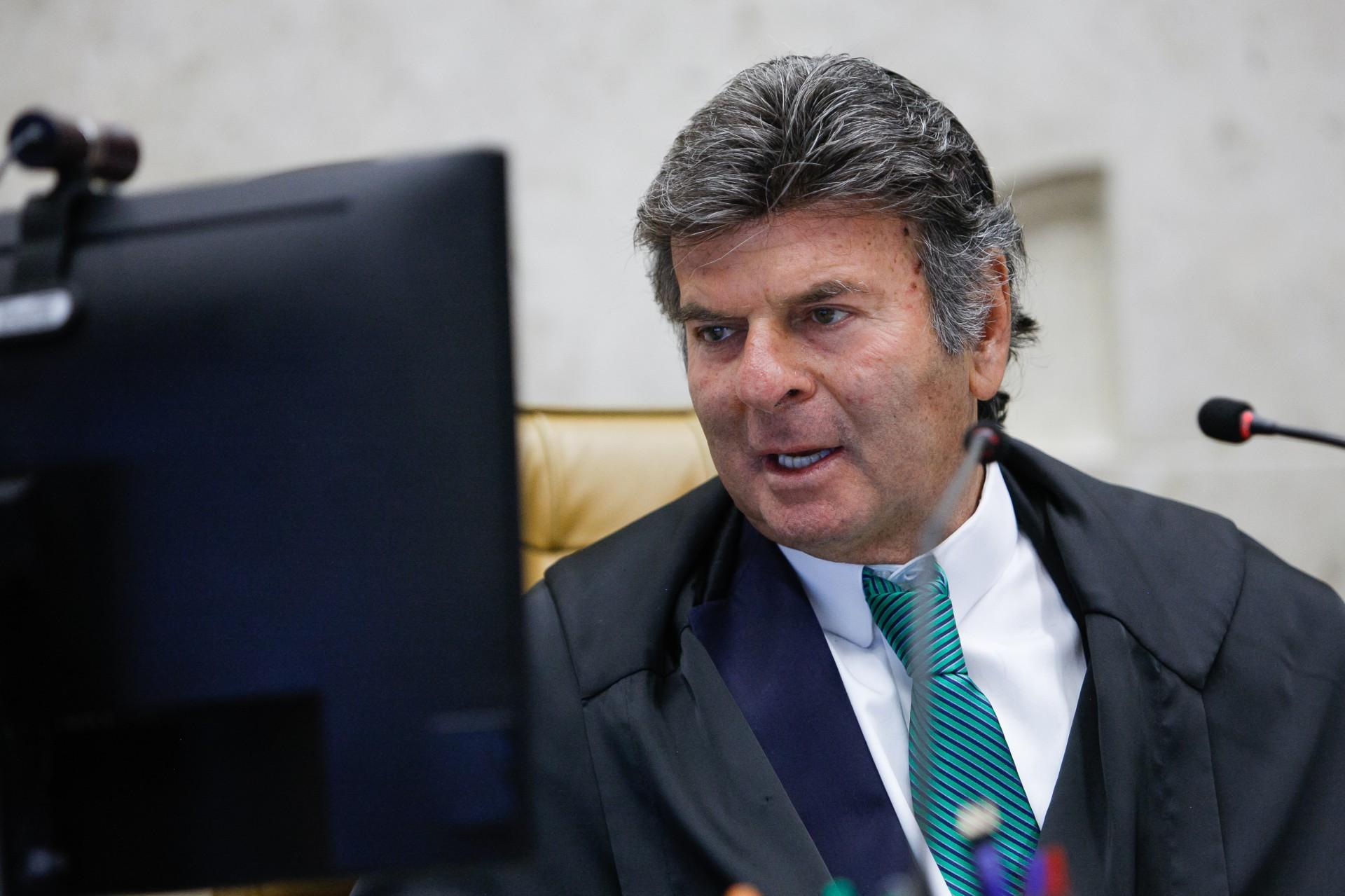 PRESIDENTE do STF, Luiz Fux propôs a reunião desta quarta (Foto: Fellipe Sampaio /SCO/STF)