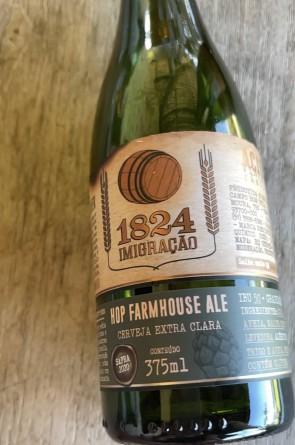 Hop Farmhouse Ale, cerveja brasileira com experiência parecida a um espumante(Foto: divulgação)
