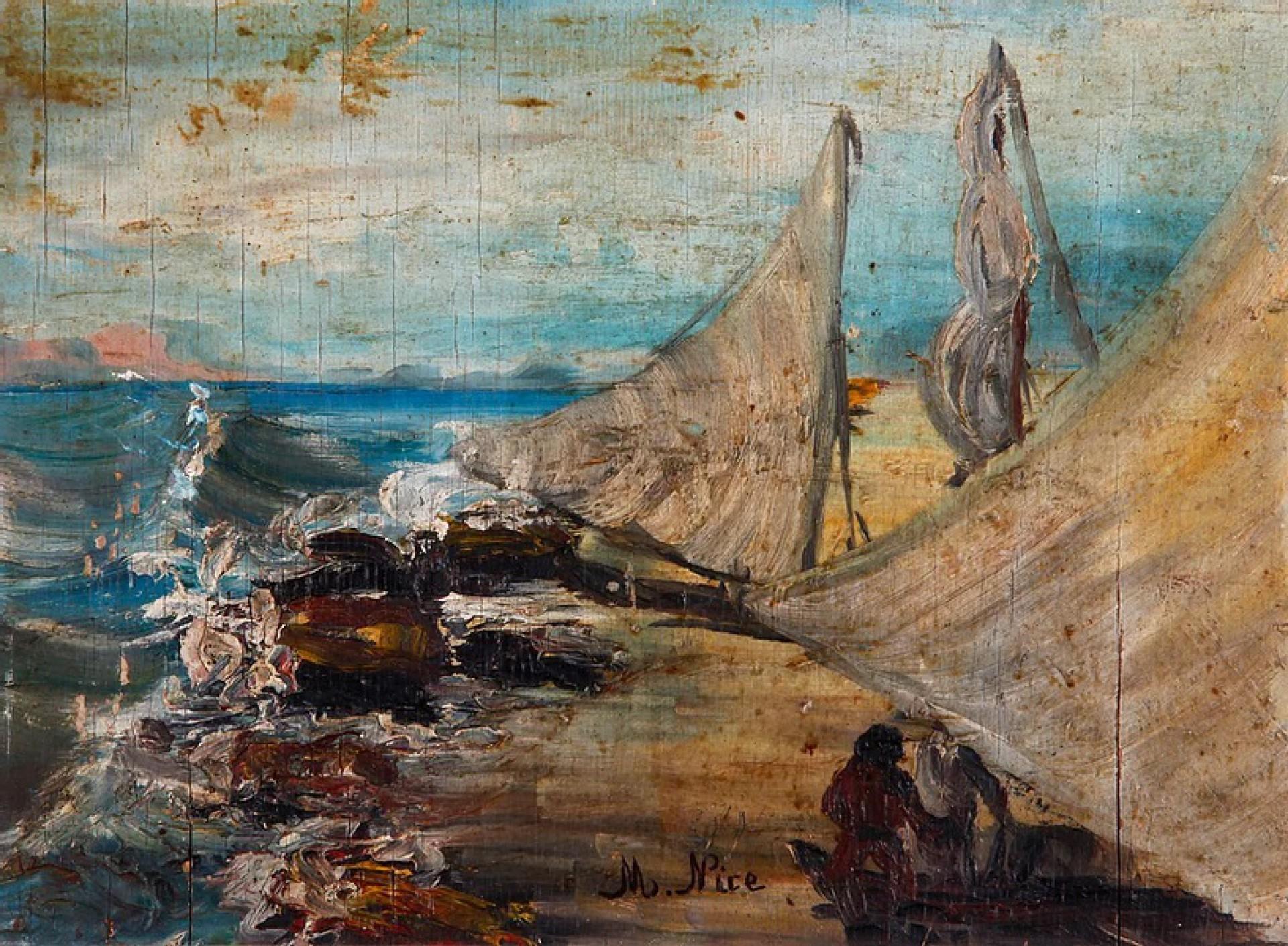 (Foto: Acervo Minimuseu Firmeza)Obra sem título de Nice feita em 1979
