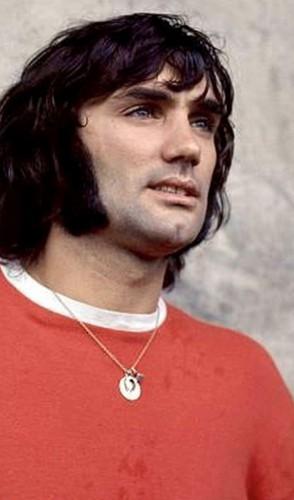 4º   Esse é para os aficionados do esporte: George Best!