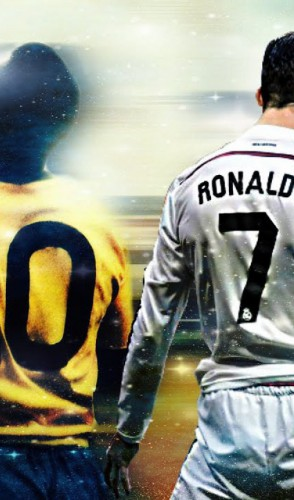 Agora os citados no começo: Maradona está na sexta colocação; Messi (7º); Pelé (8º) e CR7 em (10º).