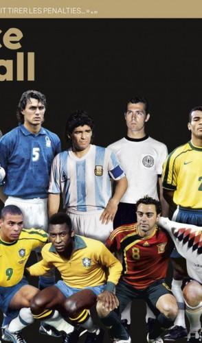 Nada de Pelé e Maradona ou ídolos do presente como Messi e Cristiano Ronaldo…