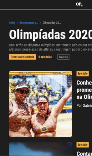 Fique por dentro de tudo o que está acontecendo nas Olimpíadas com o nosso conteúdo ;)