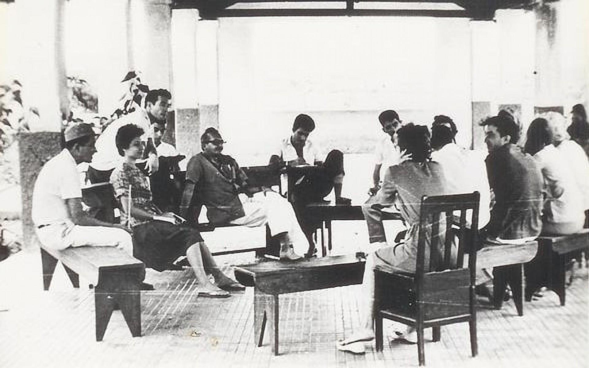 Curso de capacitação para a experiência de alfabetização em Angicos, no Rio Grande do Norte (RN), em 1963(Foto: Acervo Paulo Freire)