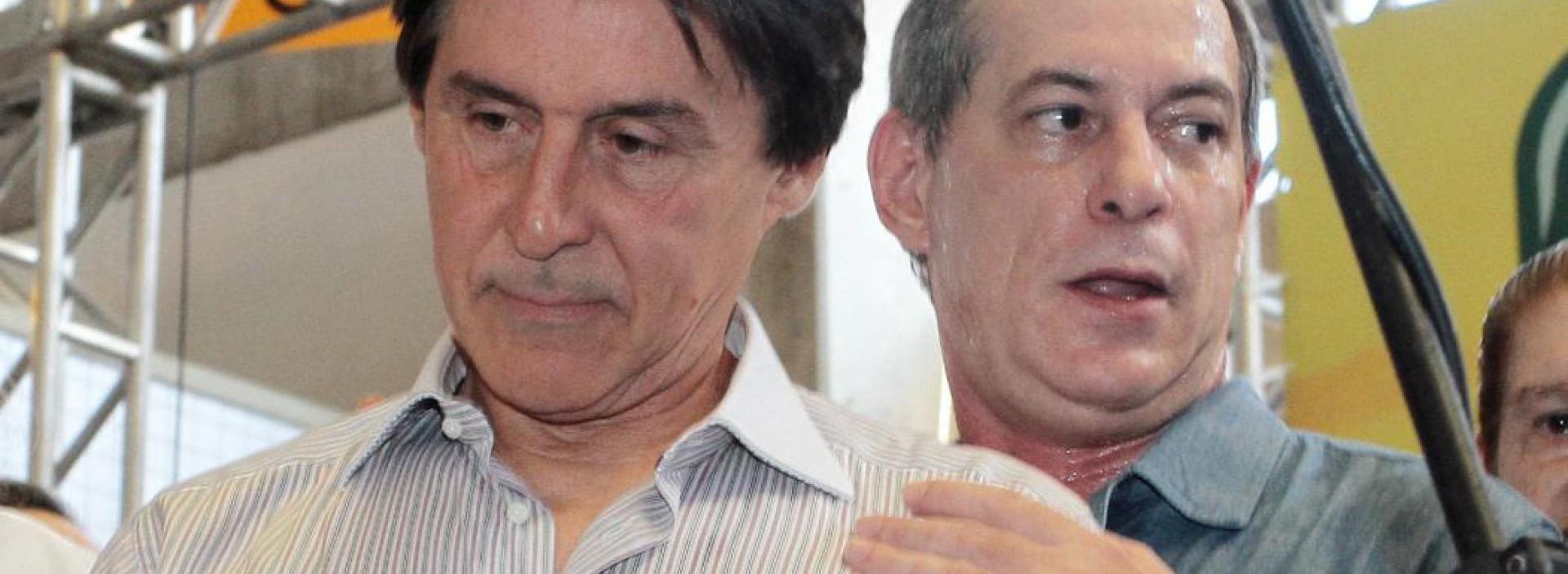 Disputas entre Eunício e Ciro não são exatamente novidade na política cearense (Foto: Iana Soares, em 23/06/2012)