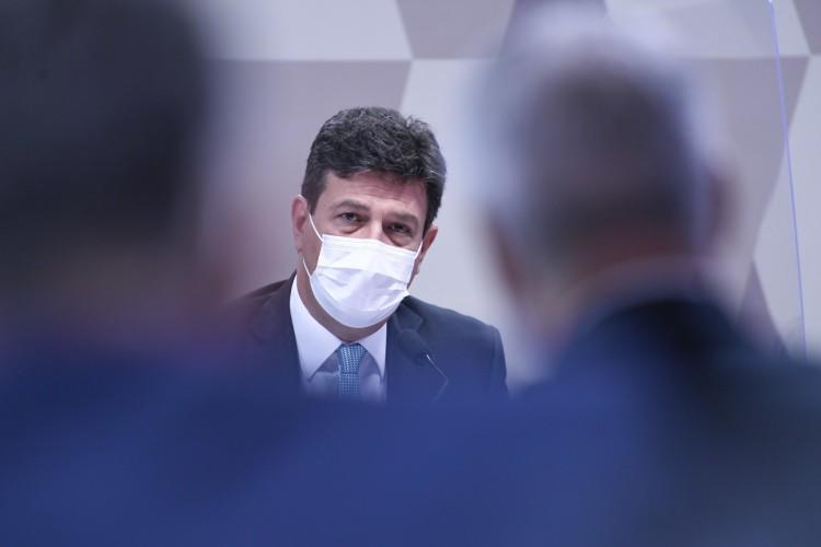 EX-MINISTRO depôs em maio à CPI da Covid para explicar autonomia que tinha na Saúde nas decisões de combate à pandemia(Foto: Jefferson Rudy/Agência Senado)