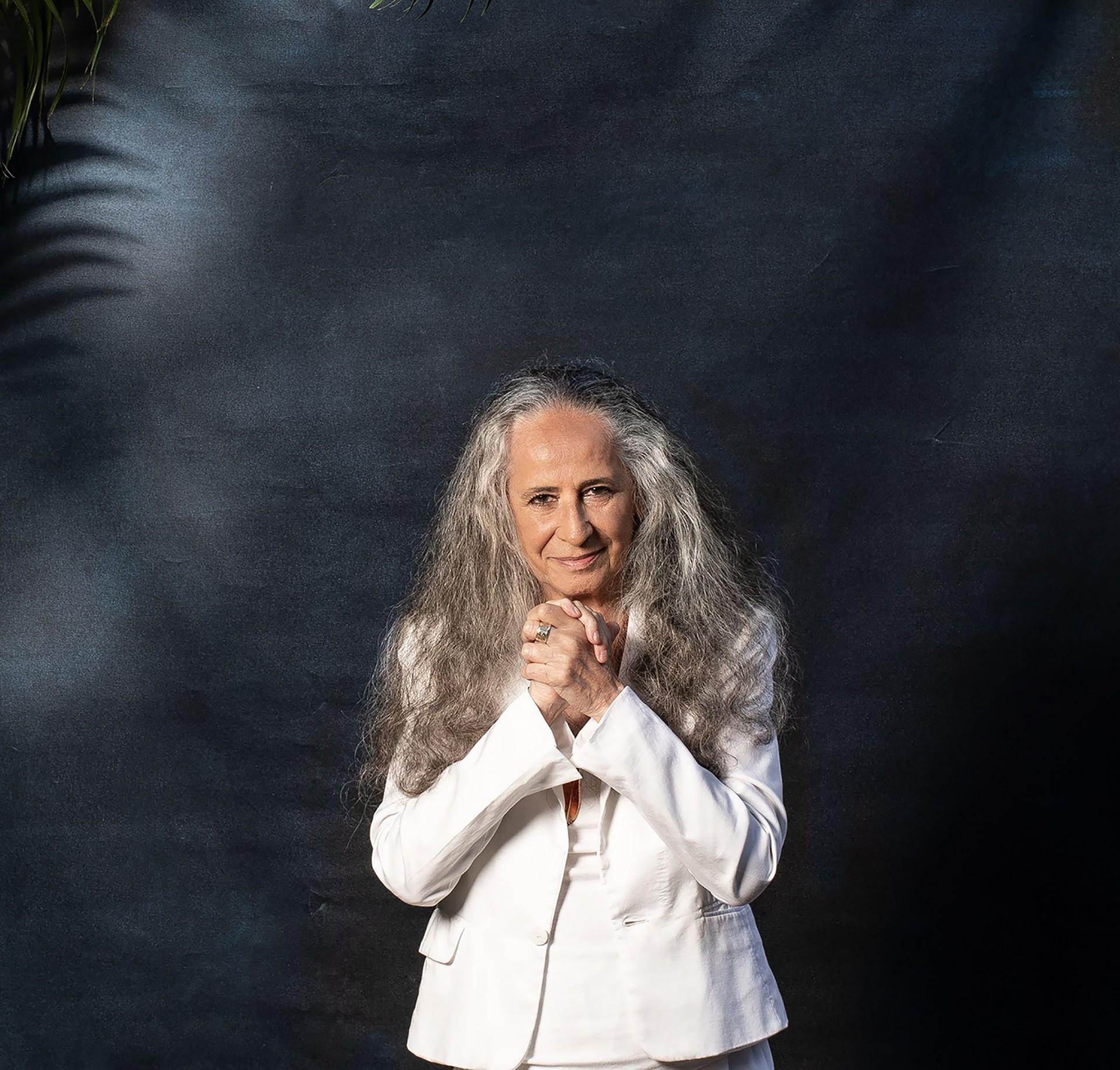 Maria Bethânia lança 'Noturno', álbum gravado entre setembro e outubro de 2020, e maio de 2021 (Foto: Jorge Bispo/ Divulgação)