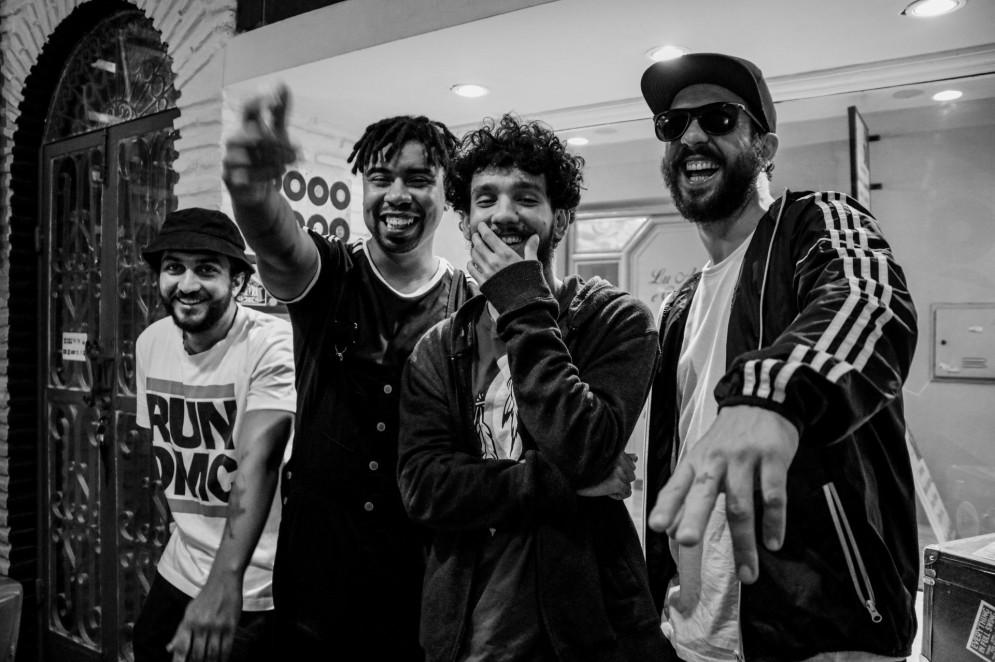 A banda de reggae cearense OutraGalera é formada por Caiô, Agno Cesar, Glauber Alves e Beto Gibbs (Foto: Divulgação)
