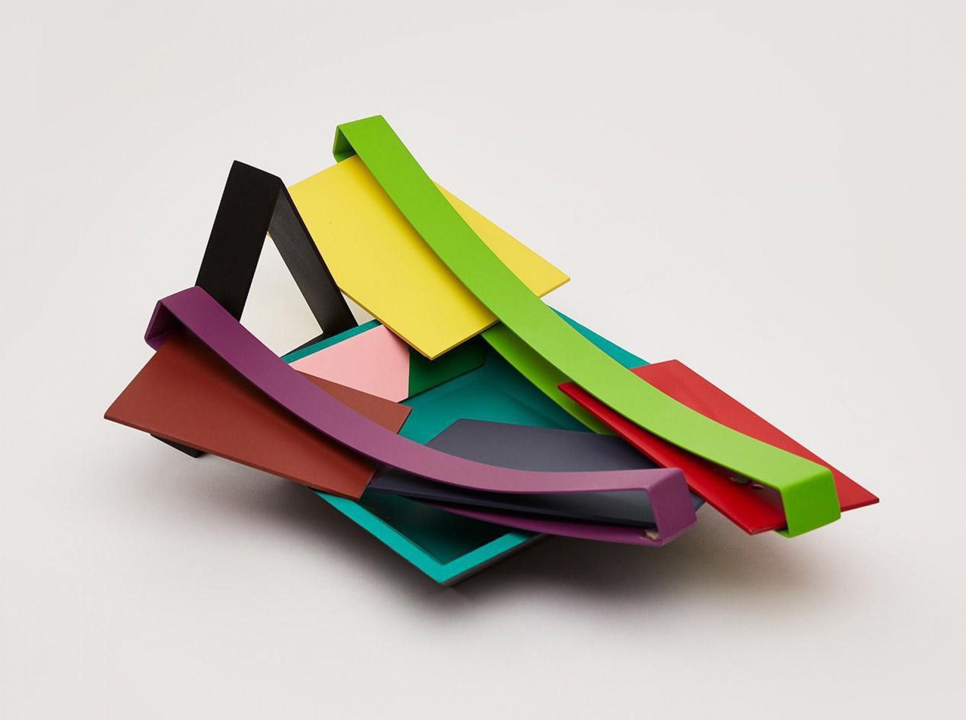 Escultura de Phillip King e Alexandre da Cunha
