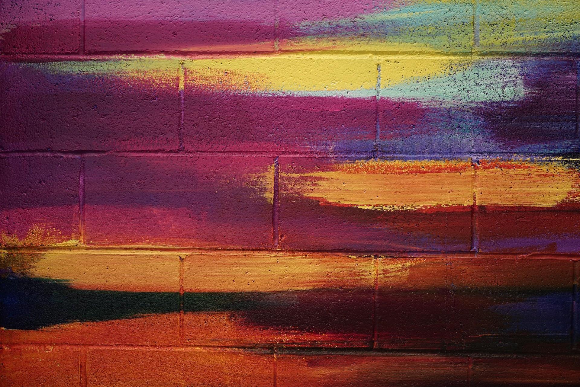 (Foto: fancycrave1/pixabay)Tijolinho colorido