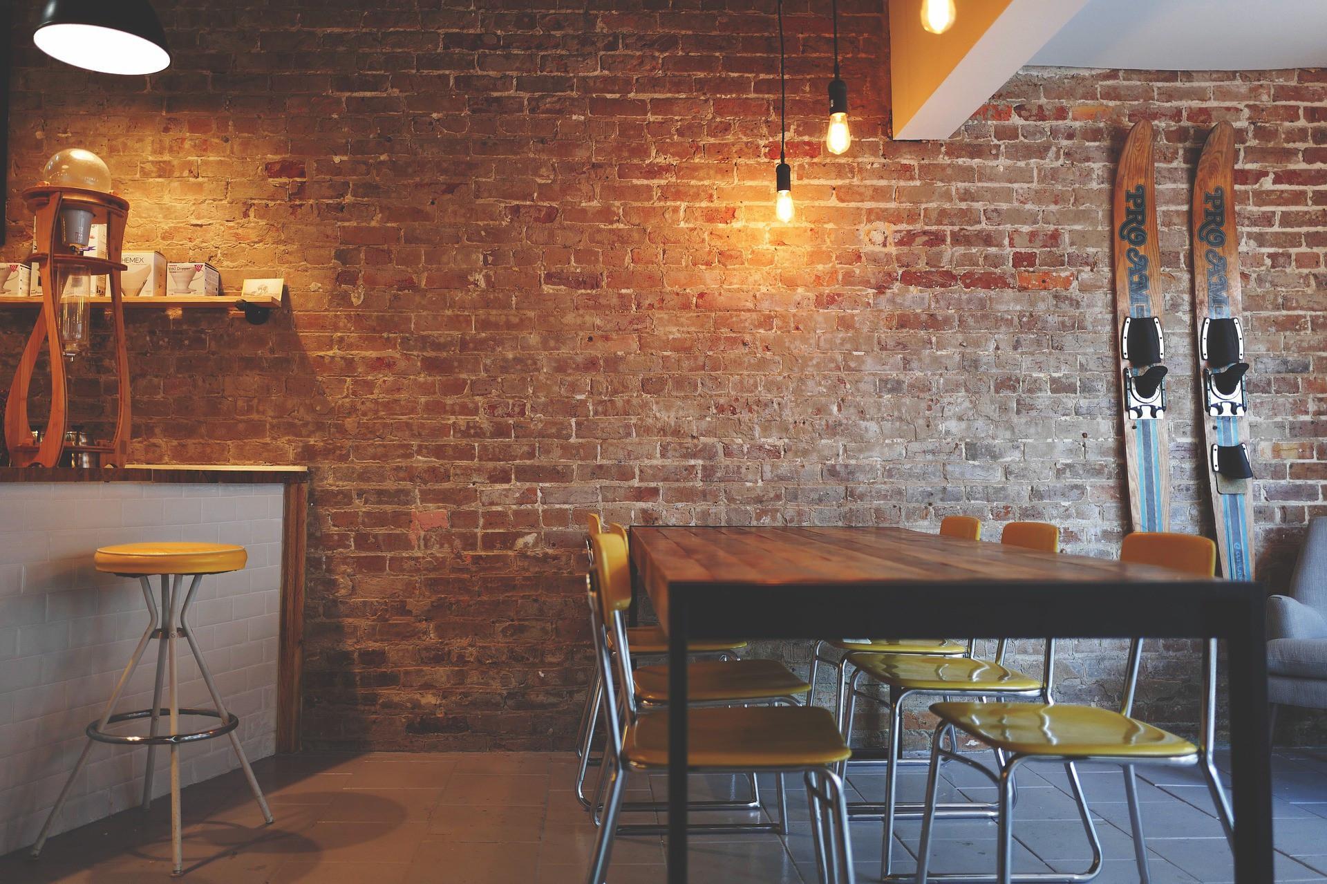 (Foto: Pexels/pixabay)Tijolinhos vão bem em ambientes variados