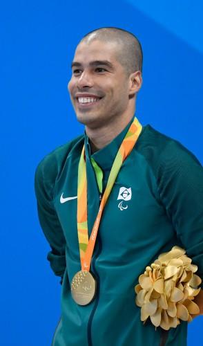 O atleta Daniel Dias, da natação, é o maior medalhista brasileiro nos Jogos Paralímpicos. Dono de 14 medalhas de ouro!