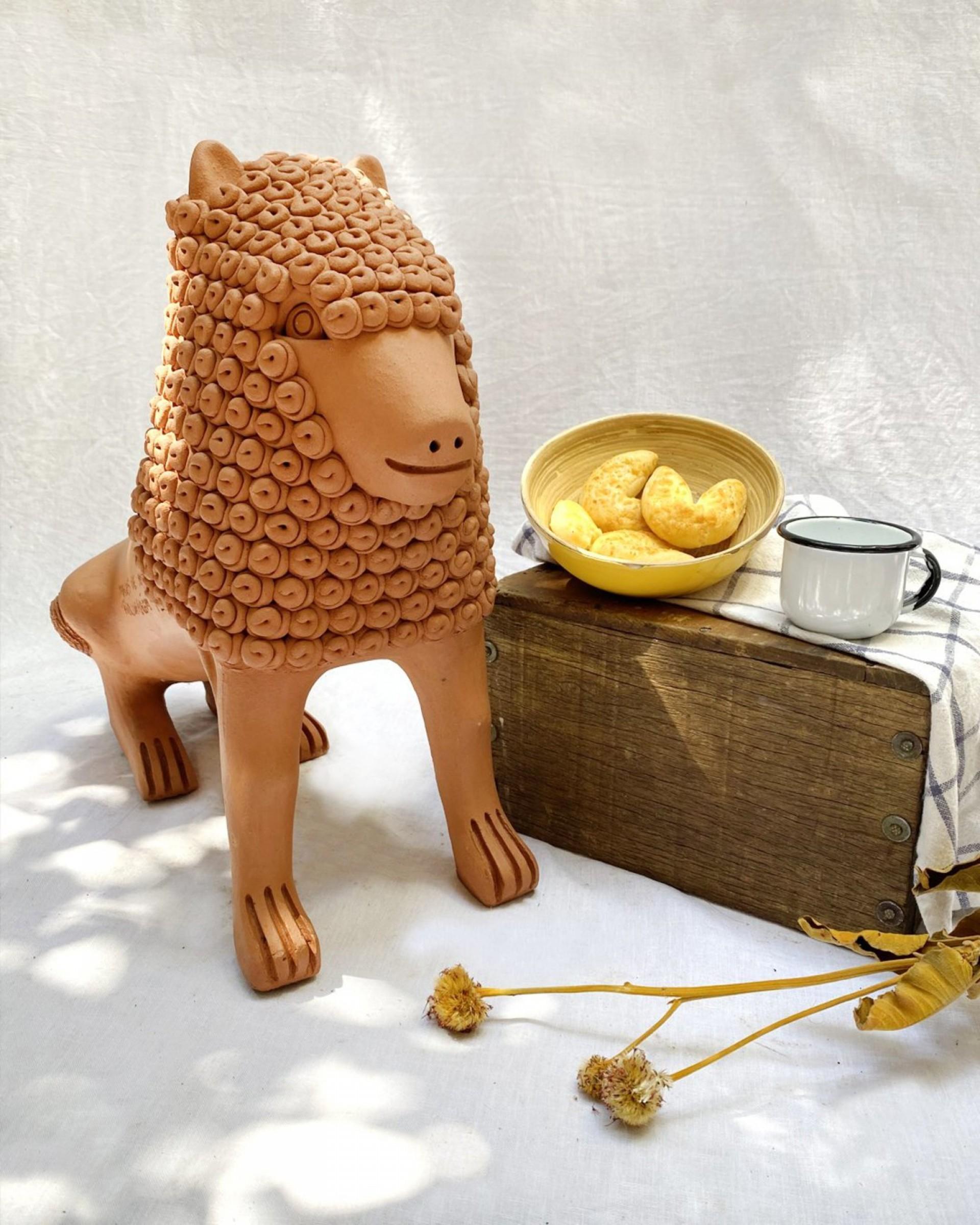 Escultura Marcos de Nuca (Foto: divulgação)
