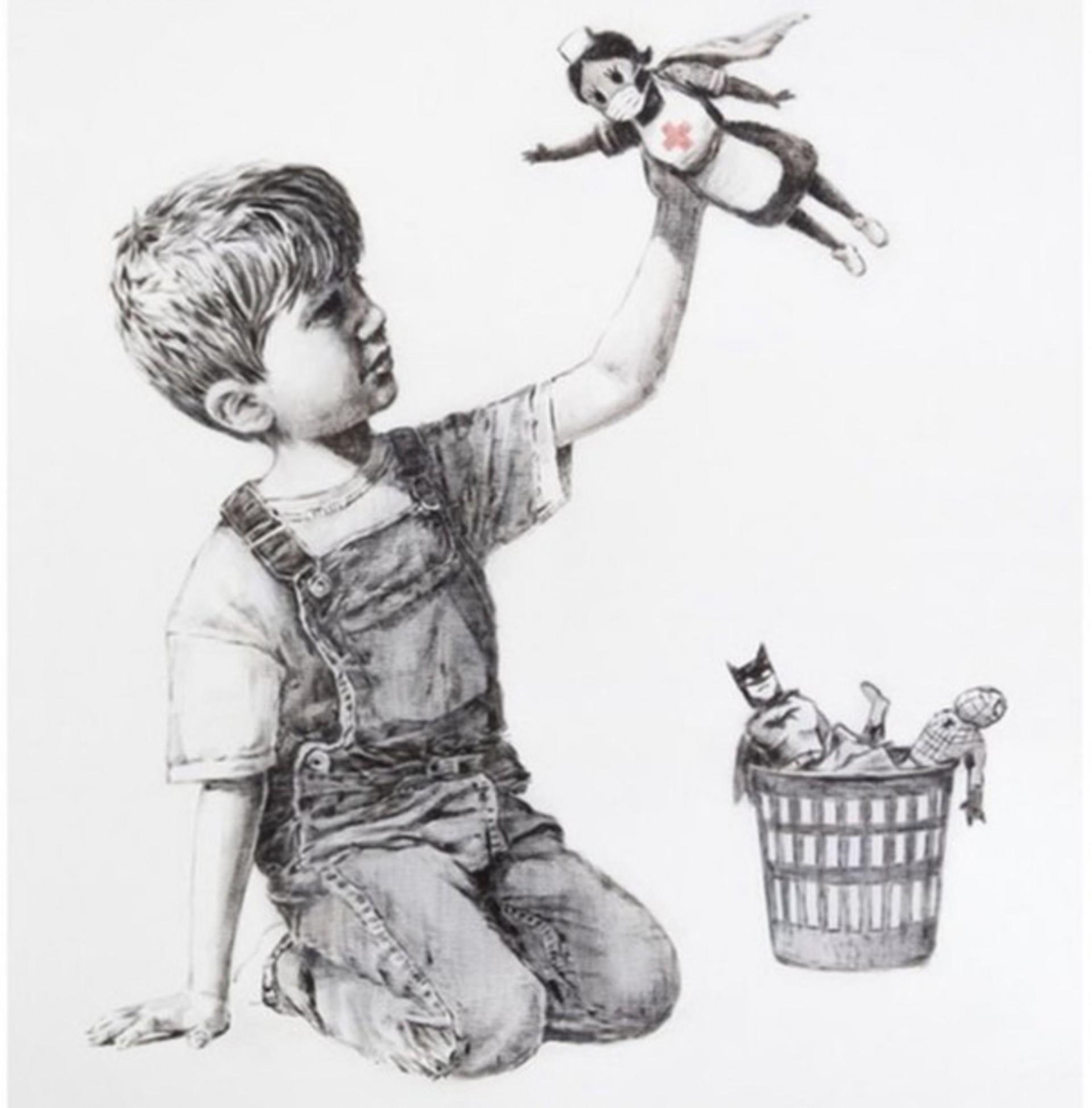 """""""Game Changer"""" (2020), de Banksy"""