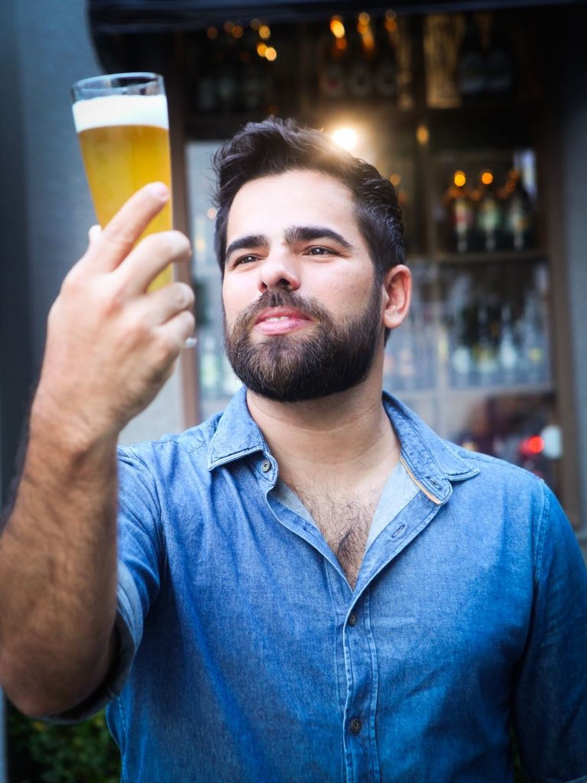 João Filho: dicas para quem quer atuar profissionalmente como sommelier de cervejas (Foto: ETHI ARCANJO/ DIVULGAÇÃO )