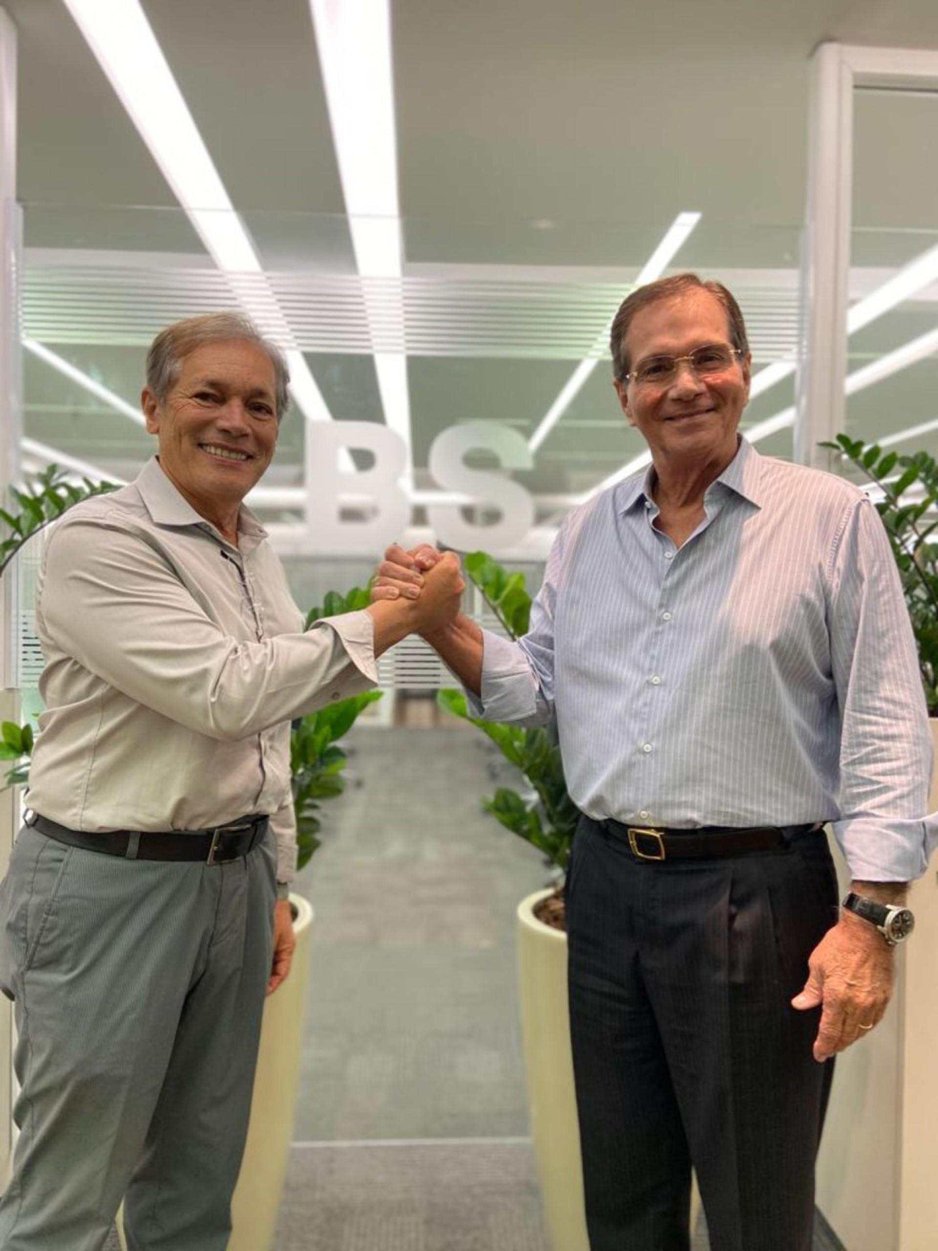 Otacílio Valente e Beto Studart: parceria em novo empreendimento (Foto: divulgação)