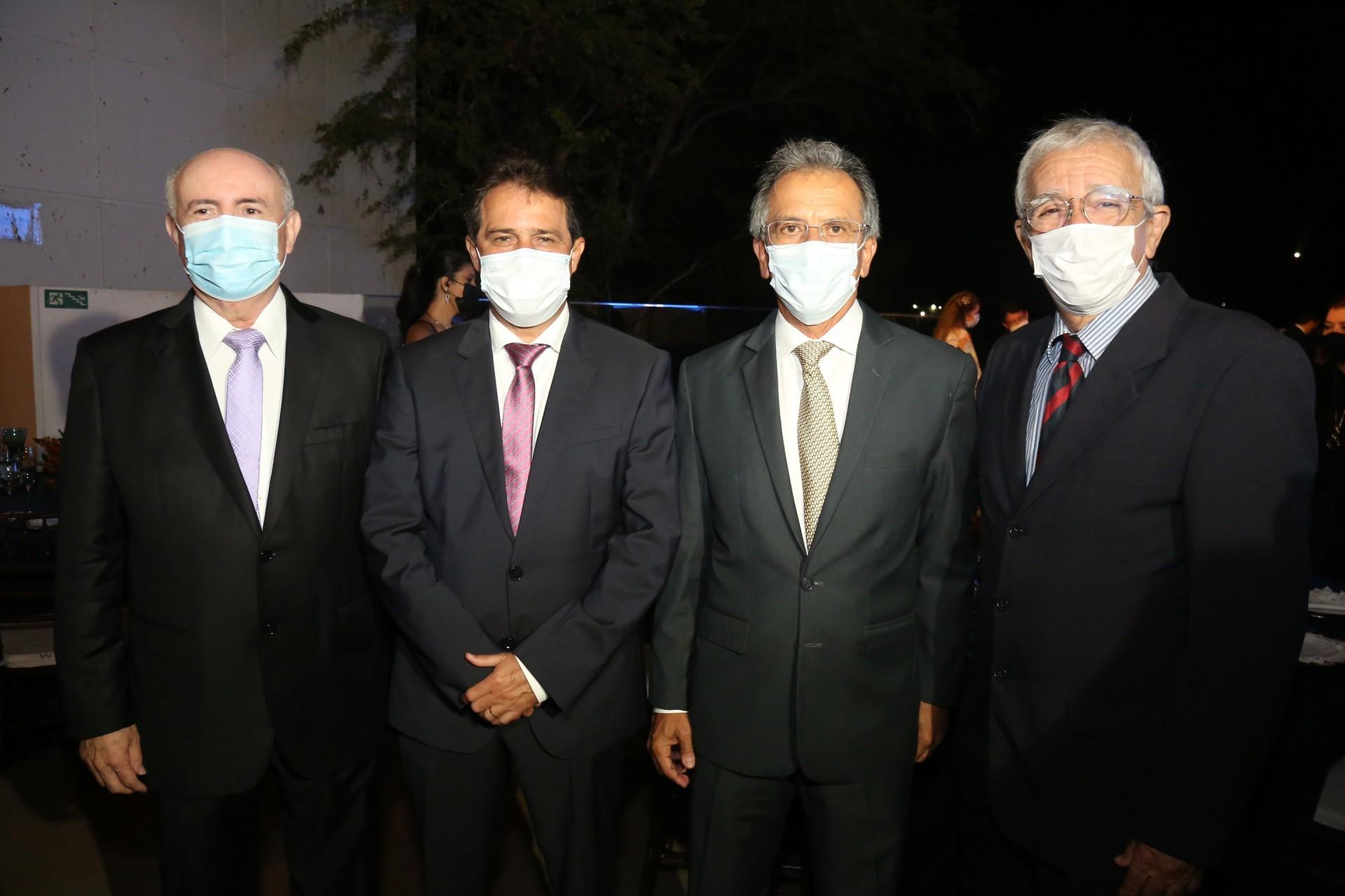 (Foto: JOAO FILHO TAVARES)Amarílio Cavalcante, Evandro Leitão, Eduardo Rolim e Mino Castelo Branco