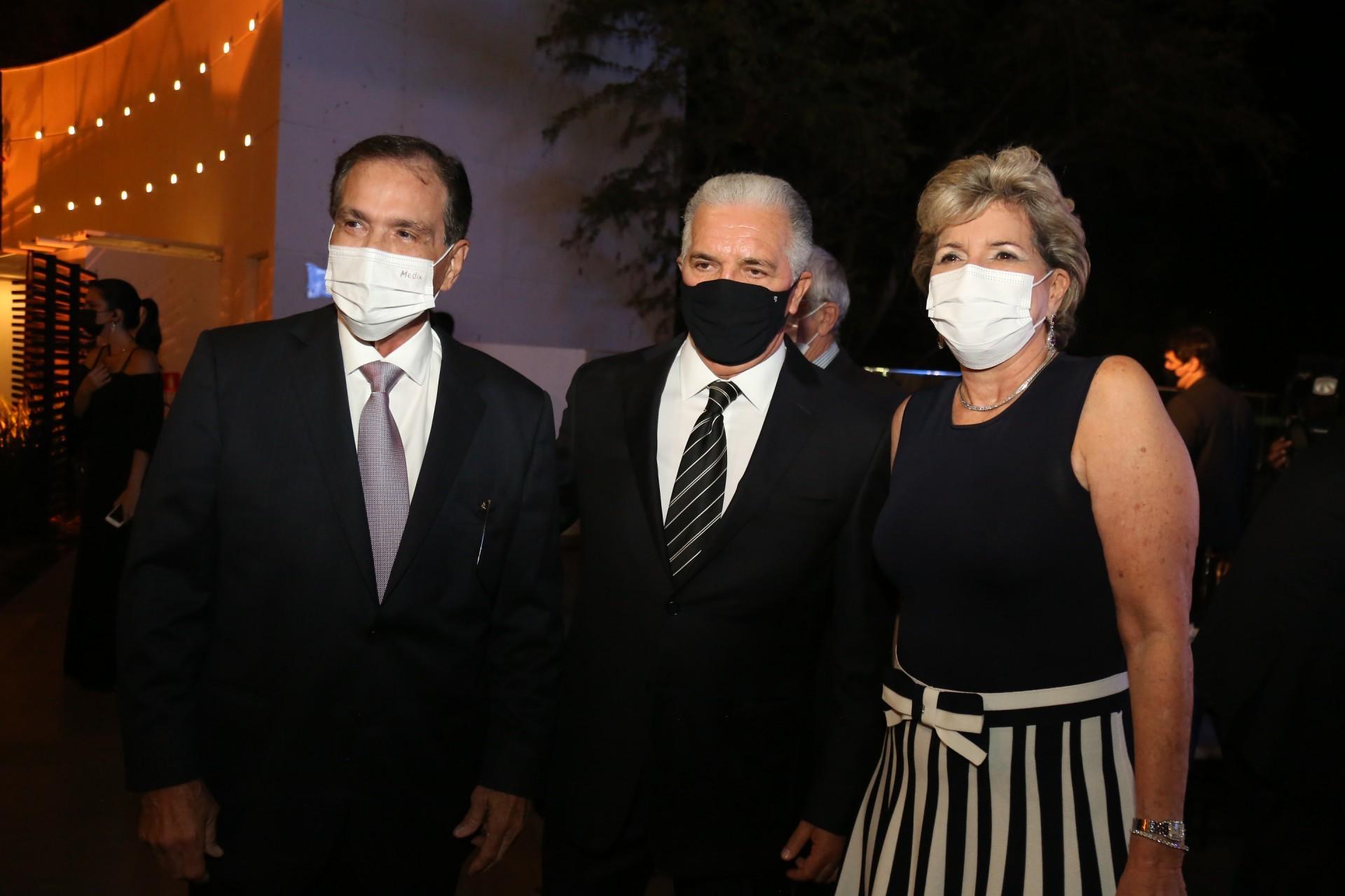 (Foto: JOAO FILHO TAVARES)Beto Studart, Pio Rodrigues e Stella