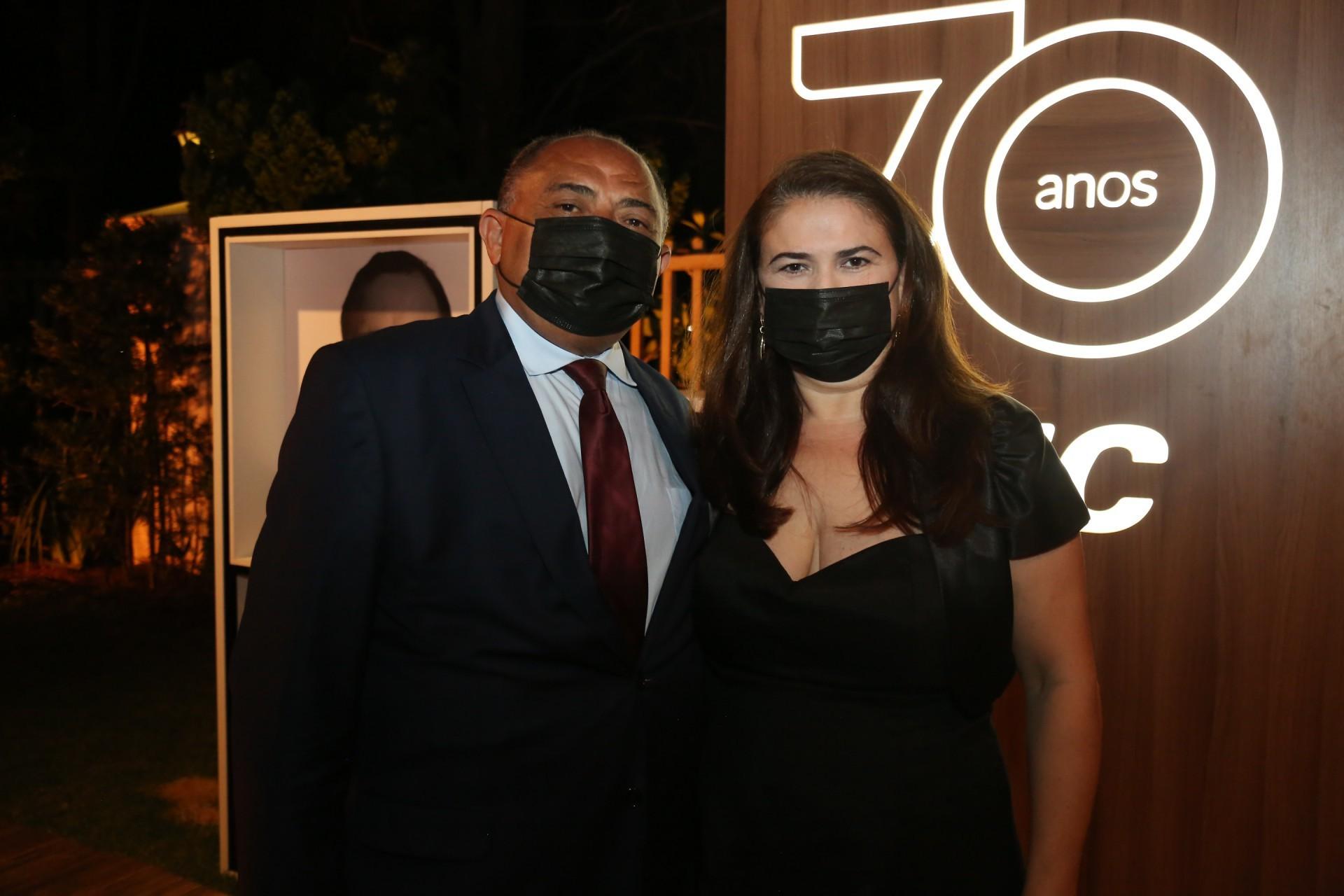 (Foto: JOAO FILHO TAVARES)Teodoro Santos e Ana Maísa