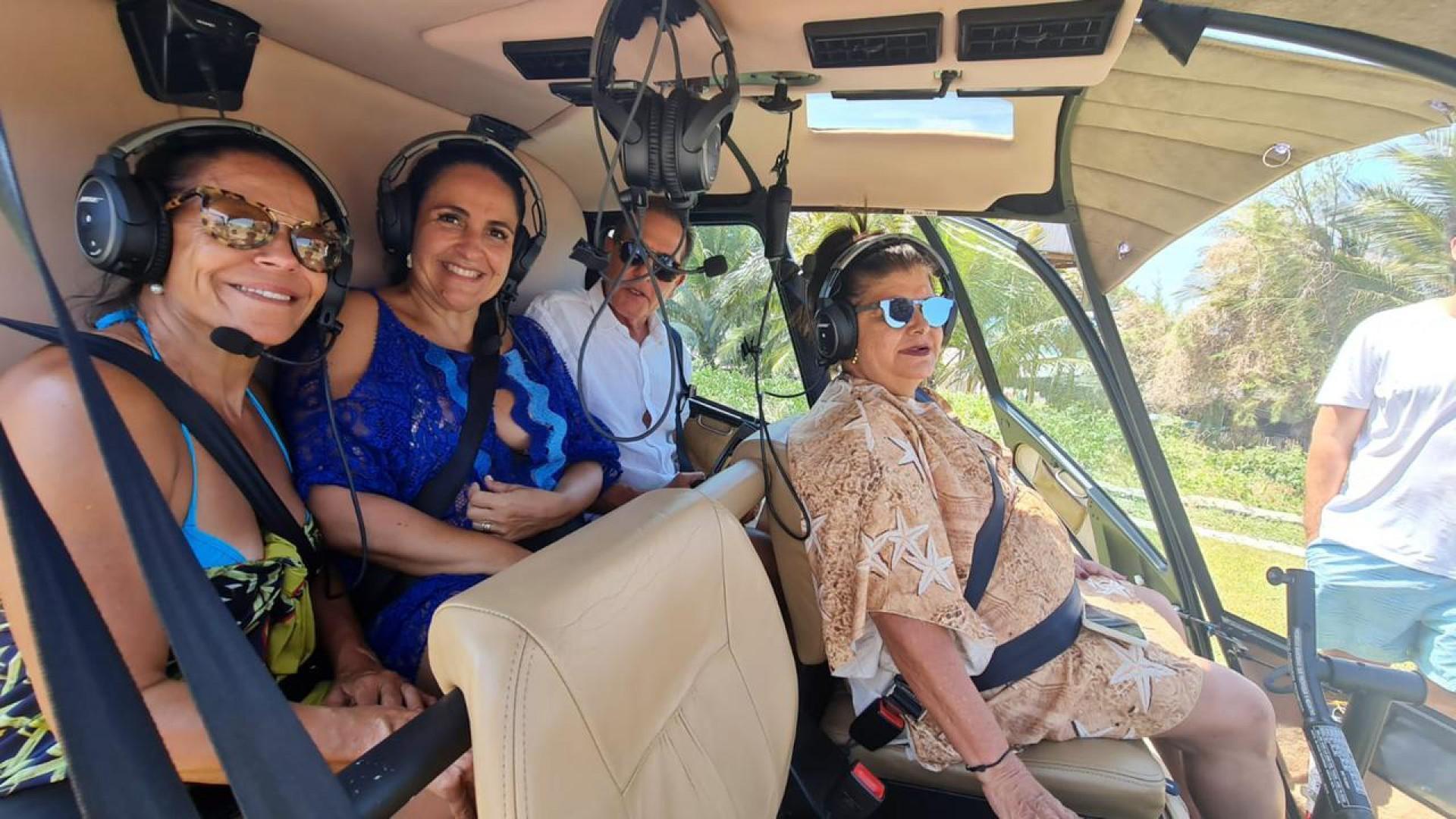 Maria Fernanda Teixeira, Sonia Hess, João Fiúza e Luiza Helena Trajano