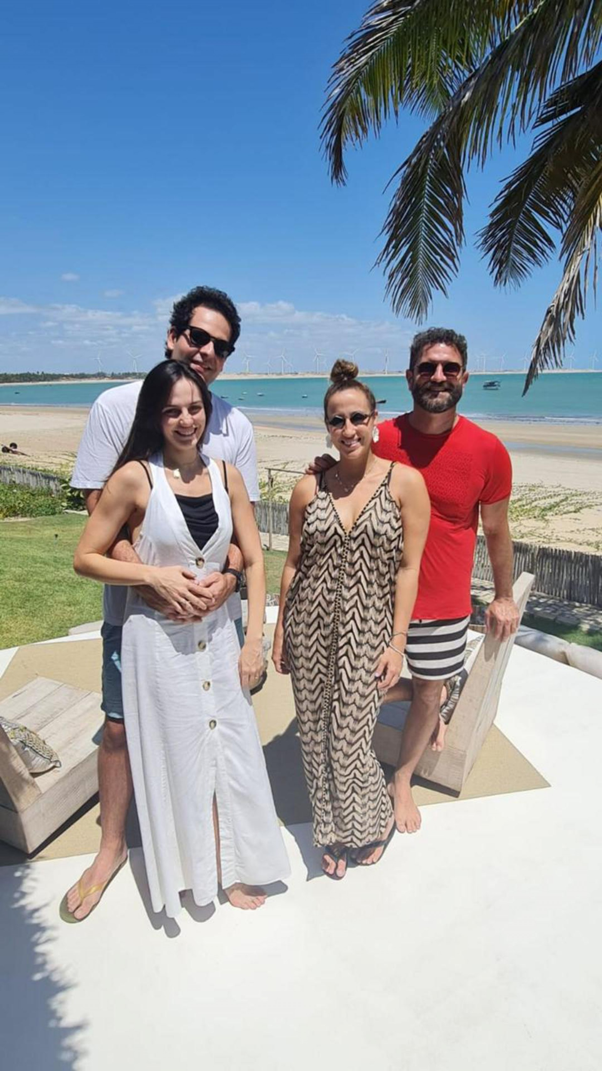 Nathália e João Fiúza Filho, Sasha e Raul Lira