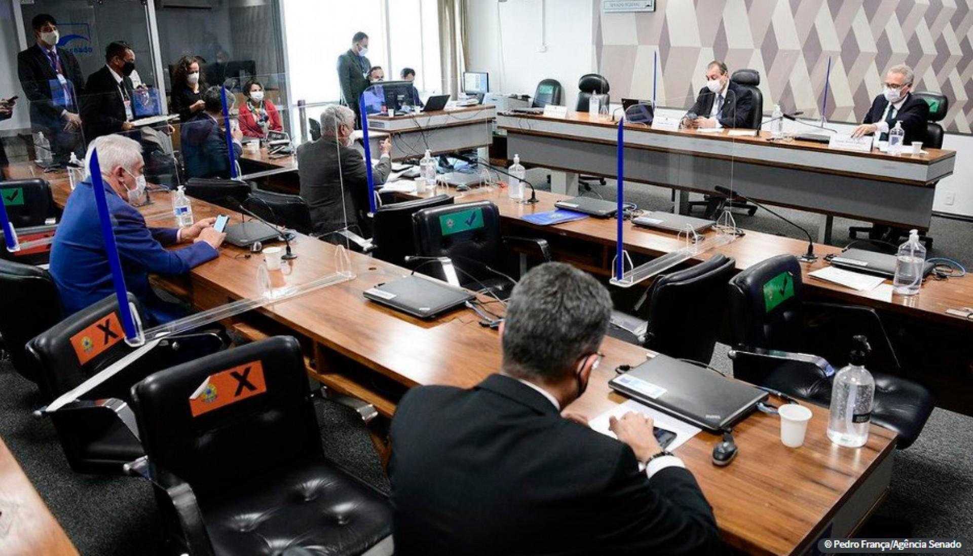 Depoente não compareceu à convocação da CPI da Covid (Foto: AGÊNCIA SENADO)