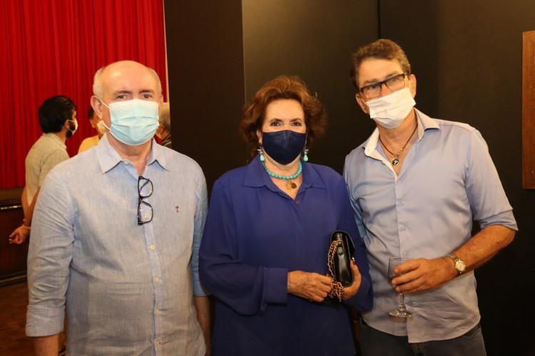 Amarílio Cavalcante, Lêda Maria e Cesar Fiuza