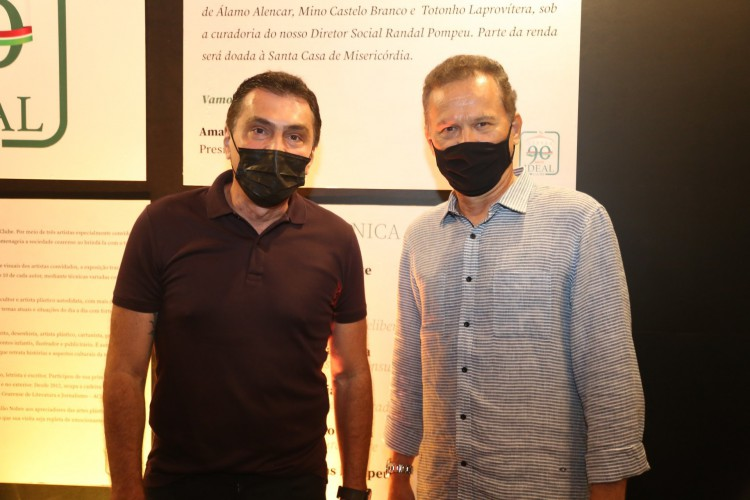 Idézio Rolim e Carlos Pimentel