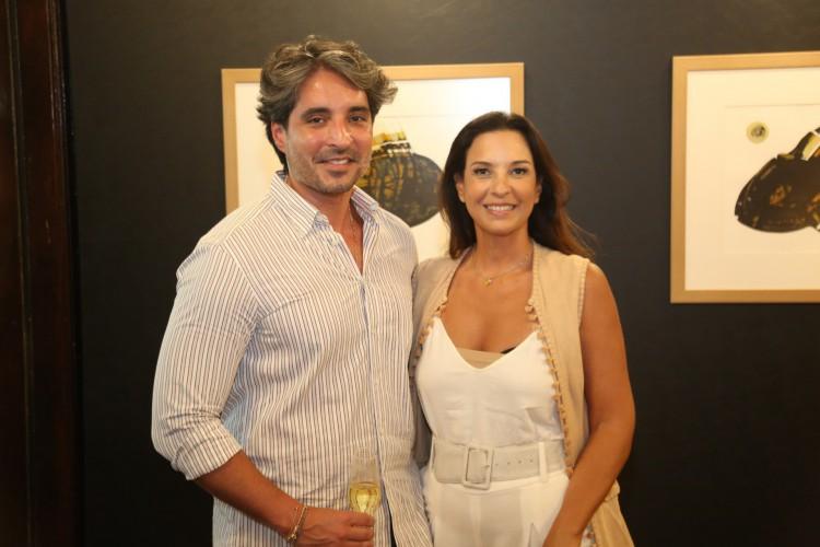 Rodrigo Porto e Lídia Oliveira