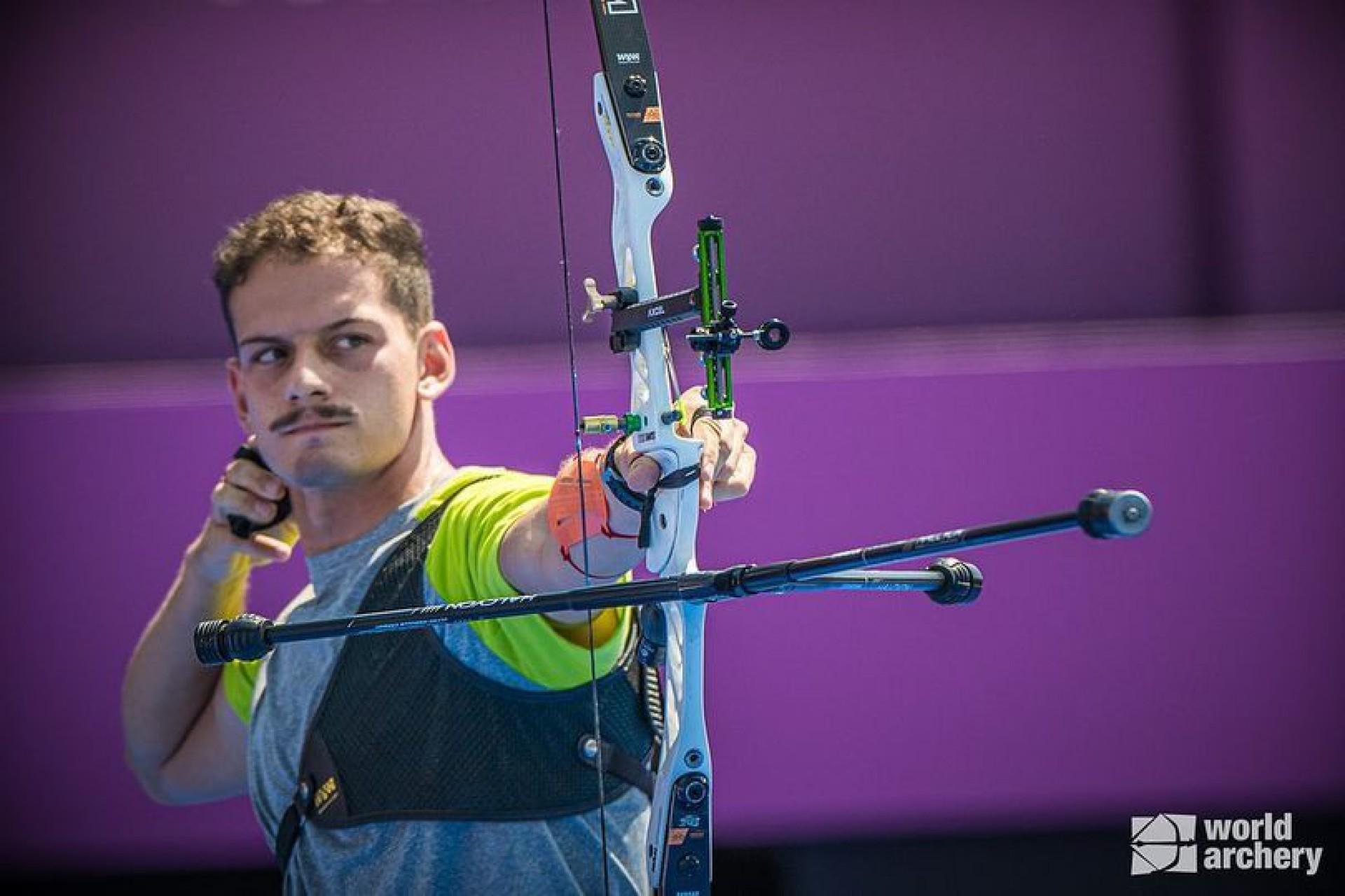 Marcus Vinícius D'Almeida, atleta brasileiro do Tiro (Foto: Acervo Marcus D'Almeida)