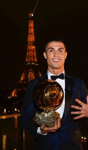 Ganhador de cinco Bolas de Ouro, o português Cristiano Ronaldo é por muitos considerado uma máquina.
